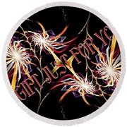 A Gift For Just For You Round Beach Towel