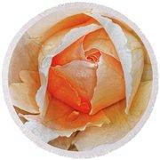 A Roses Tear Round Beach Towel