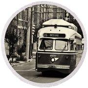 A Streetcar Named Desire Round Beach Towel