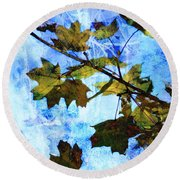 A Time For Change Round Beach Towel