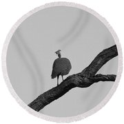 A Time For Everything Round Beach Towel