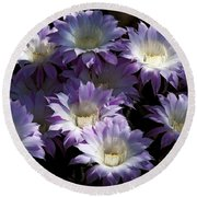 A Touch Of Lavender  Round Beach Towel