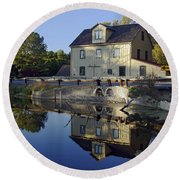 Abbotts Mill Round Beach Towel