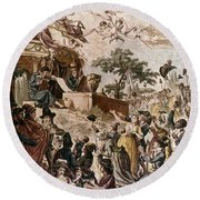 Abolition Of Slavery, 1794 Round Beach Towel