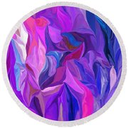 Abstract 022512 A Round Beach Towel