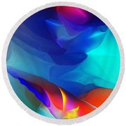 Abstract 060312 Round Beach Towel