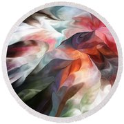 Abstract 062612 Round Beach Towel