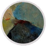 Abstract 170006 Round Beach Towel