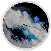Abstract 1888112 Round Beach Towel