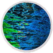 Abstract 265 Round Beach Towel