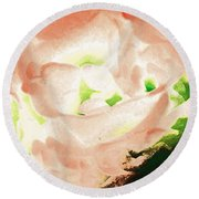 Abstract 278 Round Beach Towel