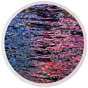 Abstract 367 Round Beach Towel