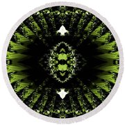 Abstract 38 Round Beach Towel