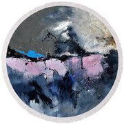 Abstract 6621801 Round Beach Towel