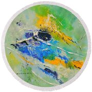 Abstract 6621803 Round Beach Towel