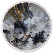 Abstract 692140 Round Beach Towel