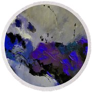 Abstract 69451223 Round Beach Towel