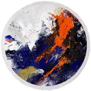 Abstract 6954238 Round Beach Towel