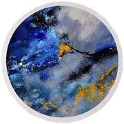 Abstract 771190 Round Beach Towel