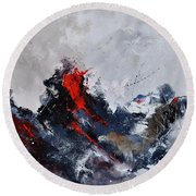 Abstract 8821013 Round Beach Towel