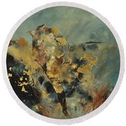 Abstract 8821015 Round Beach Towel