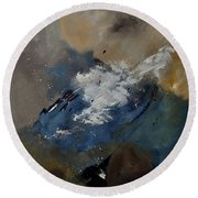 Abstract 8821206 Round Beach Towel
