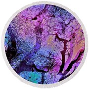 Abstract 97 Round Beach Towel