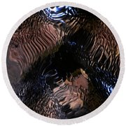 Abstract Photo 100111 Round Beach Towel