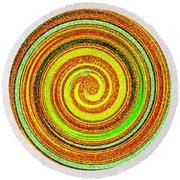 Abstract Spiral Round Beach Towel