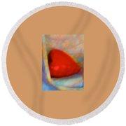 Abundant Love Round Beach Towel
