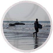 Acquaman Round Beach Towel