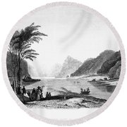 Africa: Cape Of Good Hope Round Beach Towel