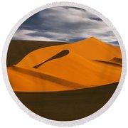 African Dunes Round Beach Towel