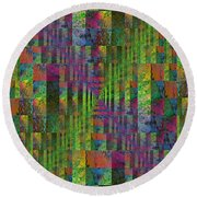 After The Rain 5 Round Beach Towel