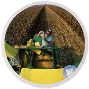 Agricultural Engineer Round Beach Towel