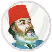 Ahmed Messali Hadj Round Beach Towel