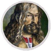 Albrecht D�rer (1471-1528) Round Beach Towel