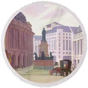 Aldwych  Round Beach Towel