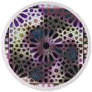 Alhambra Pattern Round Beach Towel