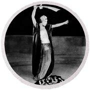Alla Nazimova (1879-1945) Round Beach Towel