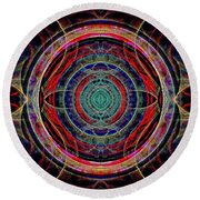 Almost Mandala Round Beach Towel