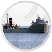 Alpena Ship Round Beach Towel