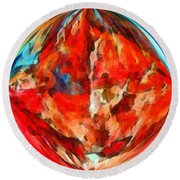 Alternate Realities 3 Round Beach Towel