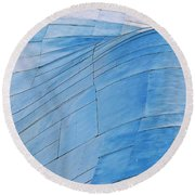 Aluminum Wave Round Beach Towel