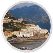 Amalfi Round Beach Towel