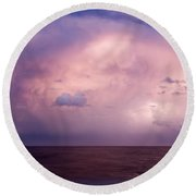 Amazing Skies Round Beach Towel
