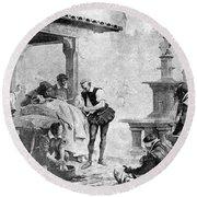 Ambroise Par�, French Surgeon, Pioneer Round Beach Towel