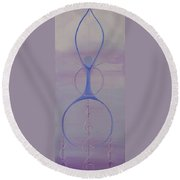 Ancestral Heavens Round Beach Towel