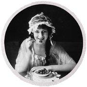Anita Stewart (1895-1961) Round Beach Towel
