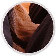 Antelope Canyon Natural Beauty Round Beach Towel